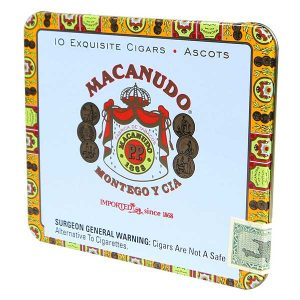 Macanudo Cafe Ascot Tin