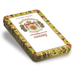 Macanudo Court Tin