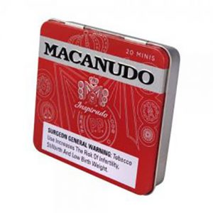Macanudo Inspirado Red Mini Tin